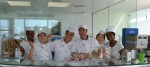International students during the internship phase of Carpigiani Gelato University's four-week course.