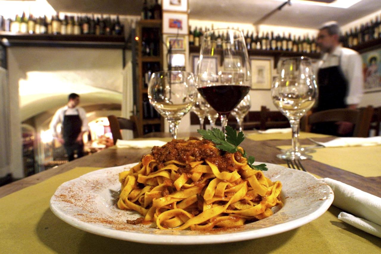 Best Restaurants In Italy Bologna