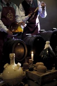 Balsamic vinegar sample taking