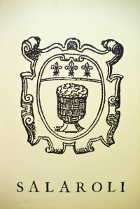The official badge of the Salaroli Guild (photo courtesy of Salumeria Simoni)