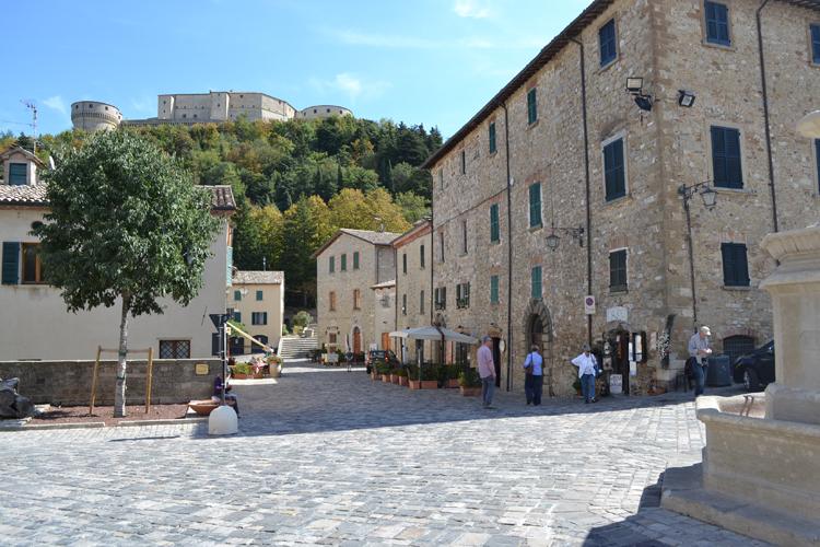 San Leo, Romagna