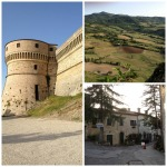 San Leo: the fortress, the valley, the town