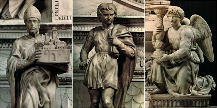michelangelo sculptures in Bologna