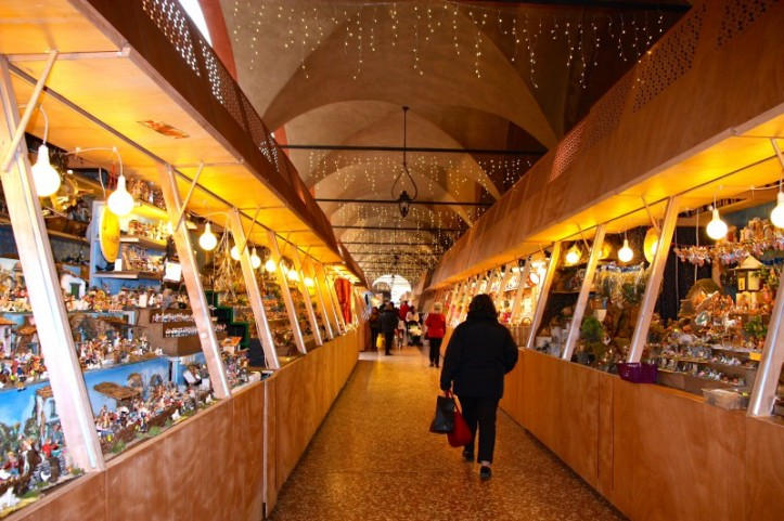 Christmas market in Bologna