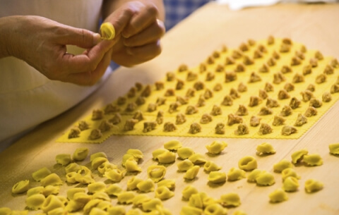 tortellini from Bologna recipe