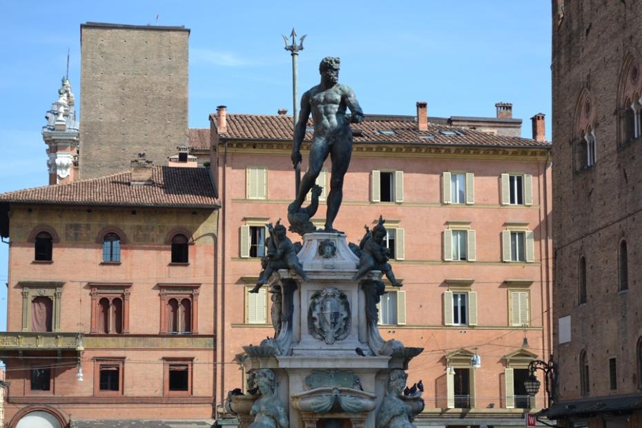 Neptune Statue Bologna