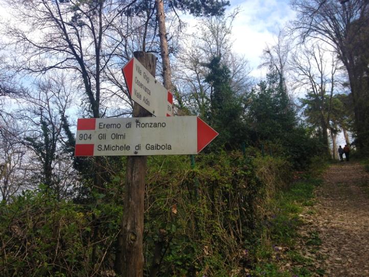 walking Bologna hills