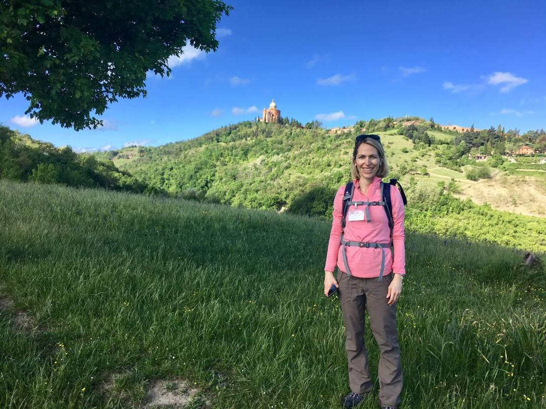 Silvia Donati certified hiking guide in Bologna