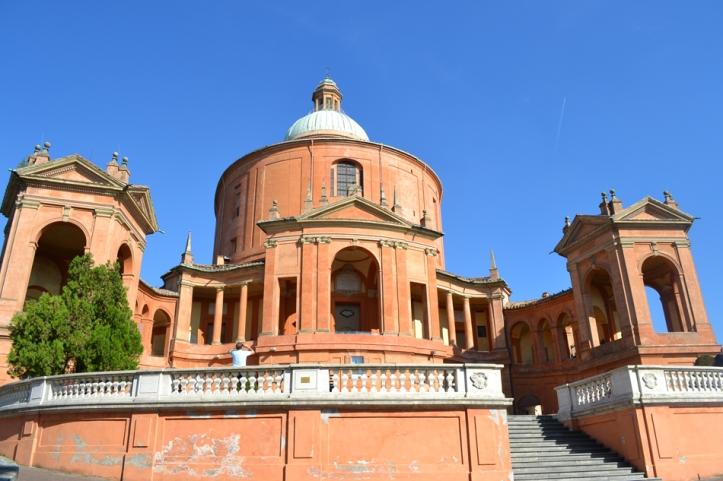 The Sanctuary of the Madonna di San Luca in Bologna