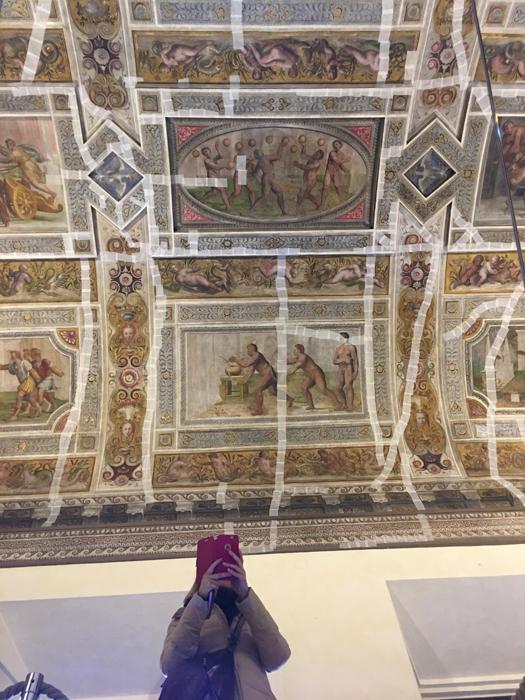 Frescoes in the Salone dei Giochi of the Estense Castle