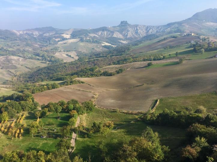 The Emilia-Romagna countryside.