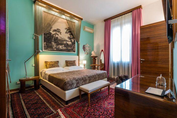One of the rooms at Casa Bertagni