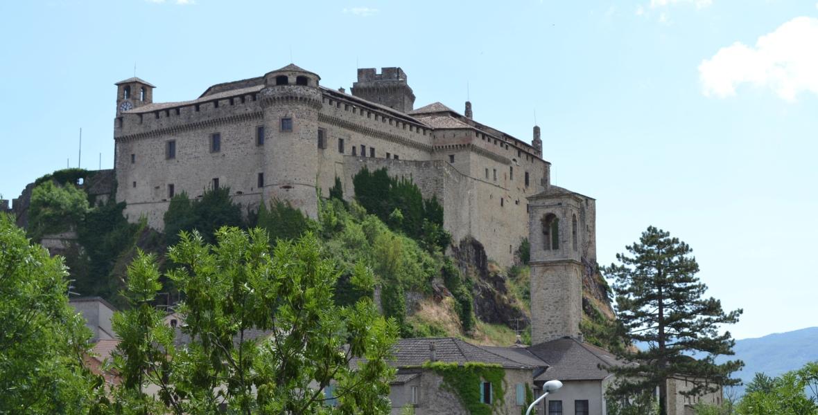 Bardi castle Emilia-Romagna